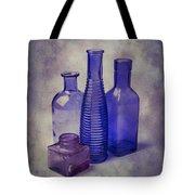 Four Glass Bottles Tote Bag