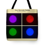 Four Heavenly Bodies Tote Bag