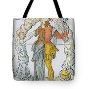 Four Humors Hippocratic Medicine Tote Bag