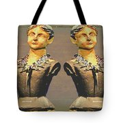 Four Mannequins Two Tote Bag