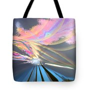 Four Planets Tote Bag