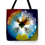 Four Seasons Roundel Tote Bag