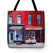 Four Shops On 11th Ave Tote Bag