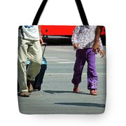 Four Unsimilar Gaits Tote Bag