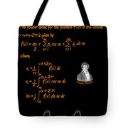 Fourier Series Tote Bag