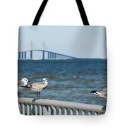 Four's A Crowd Tote Bag