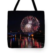 Fourth Of July In Cleveland Tote Bag