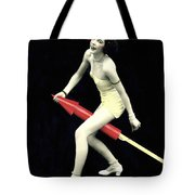 Fourth Of July Rocket Girl Tote Bag