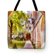 Fourth Presbyterian - A Chicago Sanctuary Tote Bag by Christine Till