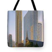Fourth Presbyterian Church Chicago Tote Bag