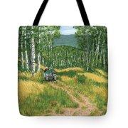 Fourwheeling In Alaska Tote Bag