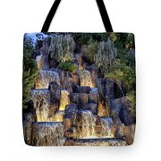 Foutains At Wynn Hotel - Las Vegas Tote Bag