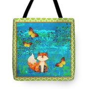 Fox-e Tote Bag