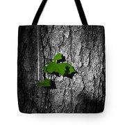 Fox Grape On Pine Tote Bag