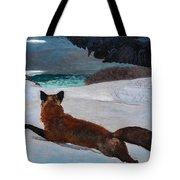 Fox Hunt 1893 Tote Bag