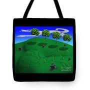 Fox Mound Tote Bag by Keith Dillon