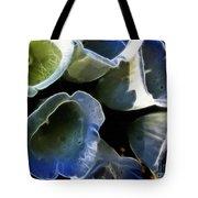 Foxglove Expressive Brushstrokes Tote Bag