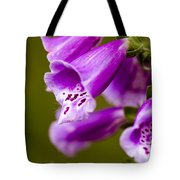 Foxglove Flower Tote Bag