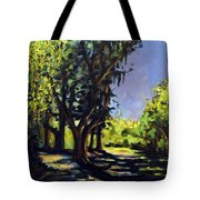 Foxgrapes And A Sandy Road Tote Bag