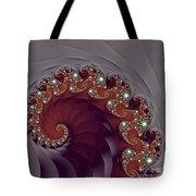 Bejeweled Tentacle Tote Bag