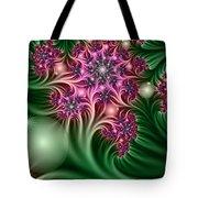 Fractal Abstract Dreamy Garden Tote Bag