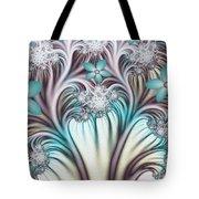 Fractal Abstract Fantasy Flower Garden 2 Tote Bag