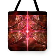 Fractal - Abstract - The Essecence Of Simplicity Tote Bag