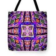 Fractal Ascension Tote Bag by Derek Gedney