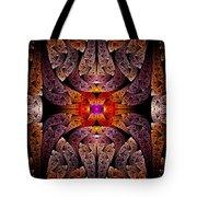 Fractal - Aztec - The Aztecs Tote Bag