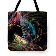 Fractal - Black Hole Tote Bag