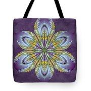 Fractal Blossom Tote Bag by Derek Gedney
