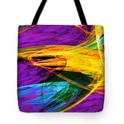 Fractal - Butterfly Wing Closeup Tote Bag