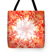Fractal Carnation Tote Bag