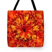 Fractal Chrysanthemum Tote Bag