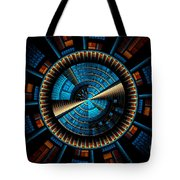 Fractal City Tote Bag