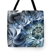 Fractal Dancing The Blues Tote Bag