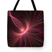 Fractal Dancing With The Light Tote Bag