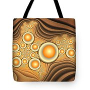 Fractal Eggs In The Depth Tote Bag