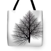 Fractal Essence Of A Tree Tote Bag
