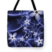 Fractal Fantasy Garden By Night Tote Bag