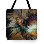 Fractal Feathers Tote Bag