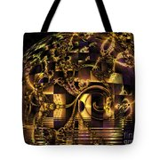 Fractal Flooding Tote Bag