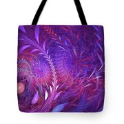 Fractal Flower Fields Tote Bag