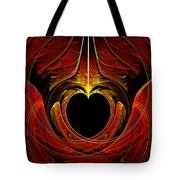 Fractal - Heart - Victorian Love Tote Bag