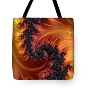 Fractal Heat - A Fractal Abstract Tote Bag