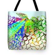Fractal - Hummingbird Tote Bag
