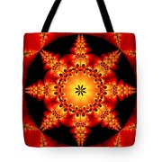 Fractal In The Centre Tote Bag