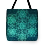 Fractal Interference Tote Bag