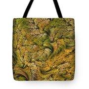 Fractal Leaf Mat-- 2 Tote Bag