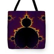 Fractal Mandelbrot Seamless Tote Bag